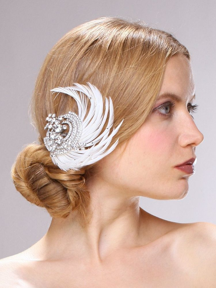 bridal hair clip, wedding hair accessories