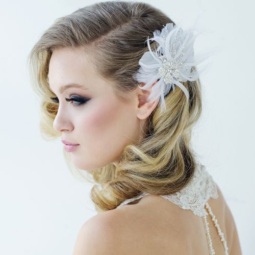 bridal headpiece, vintage bridal headpiece