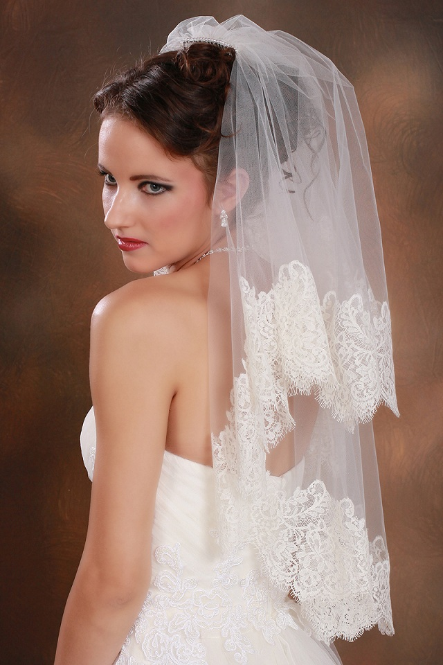 Mantilla Wedding Veil lace bridal veil lace wedding veil bridal veil
