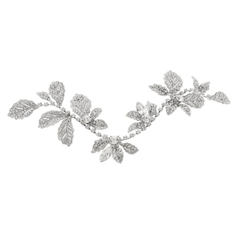 vintage crystal wedding hair vine